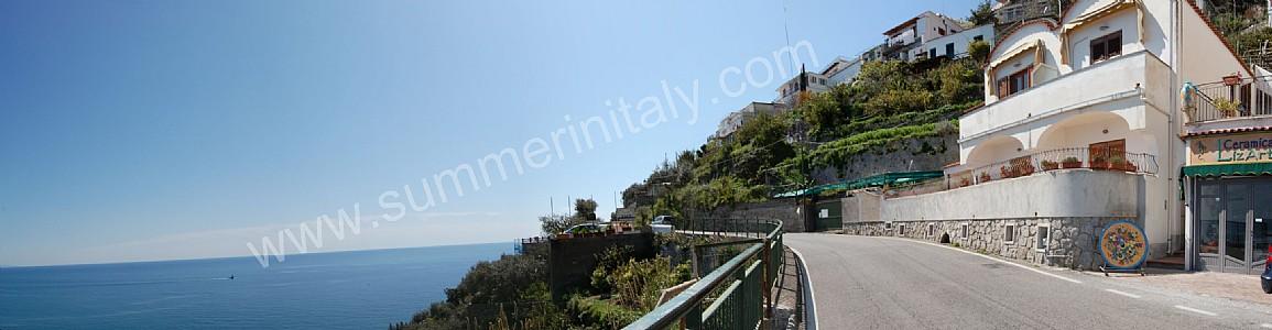 Casa anna a appartamento ammobiliato in praiano costiera for Piccoli piani di casa sulla spiaggia su palafitte