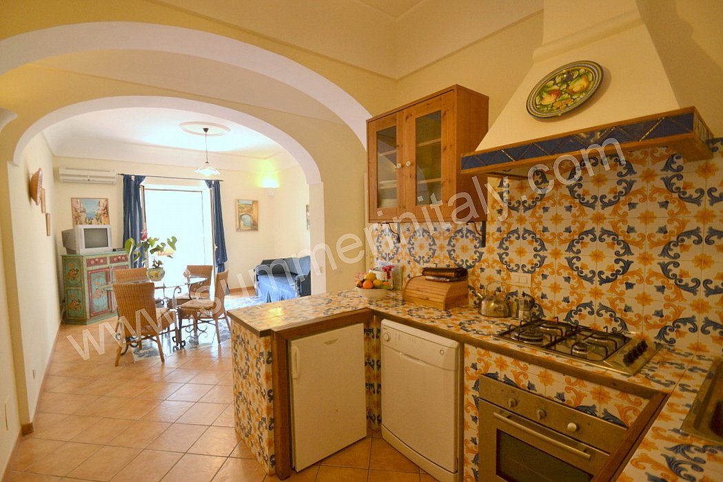 Casa Corinna B: Self catering apartment in Positano, Amalfi Coast, Italy