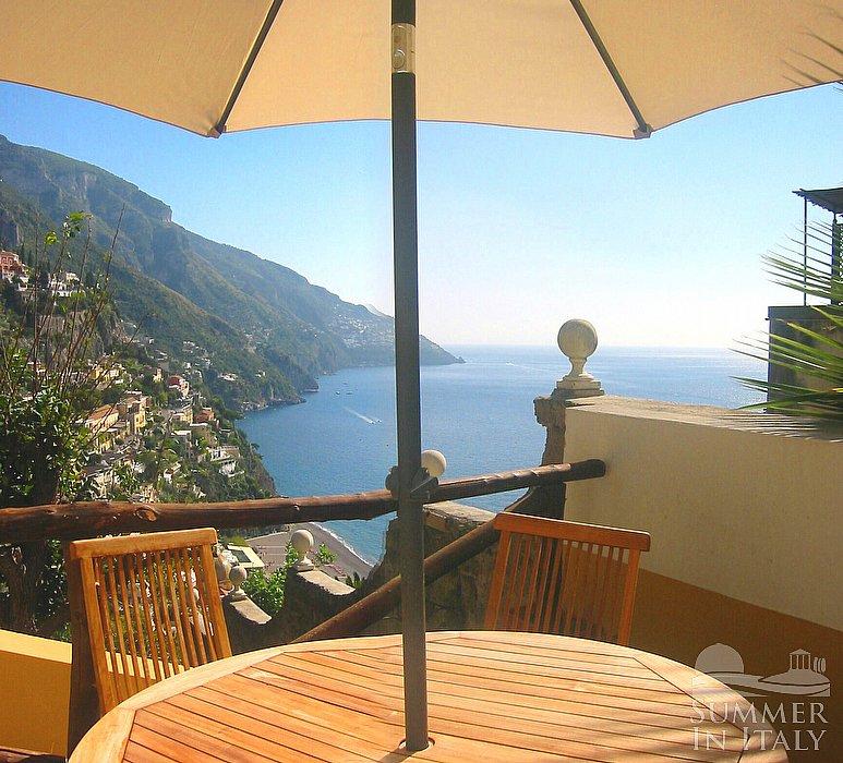 Villa Amica: Self Catering Accommodation In Positano