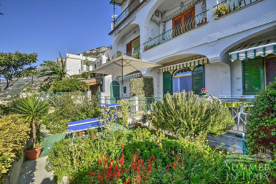 Casa guglielmina self catering apartment in praiano - Giardini villette private ...