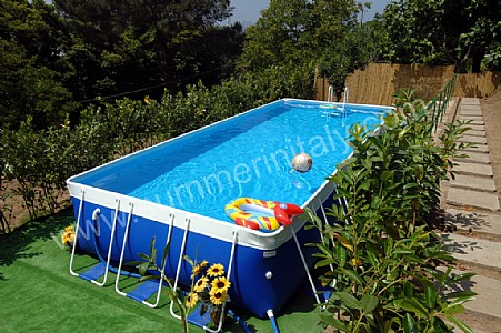 Villa annamaria self catering accommodation in sant 39 agata - Above ground swimming pool rental ...