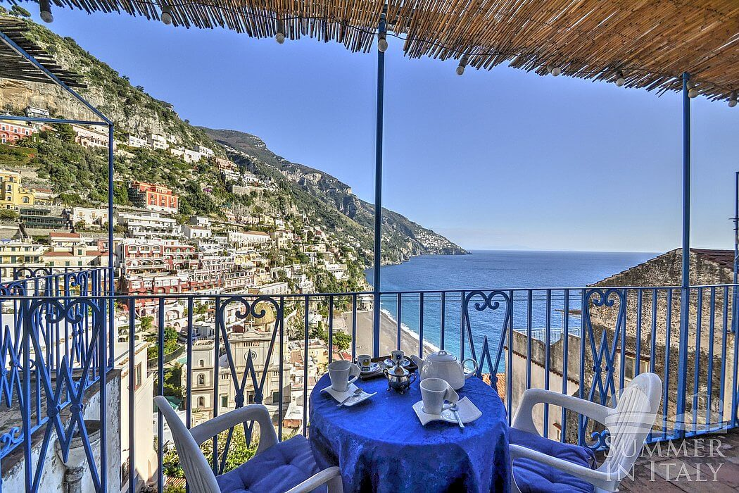 Casa edda self catering accommodation in positano amalfi for Casa positano