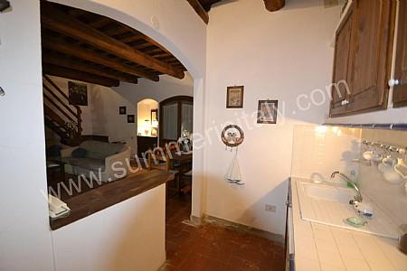 Casa lidia casa in porto ercole toscana italy - Cucina con arco ...