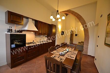 Emejing Cucina Soggiorno Con Arco Ideas - Acomo.us - acomo.us