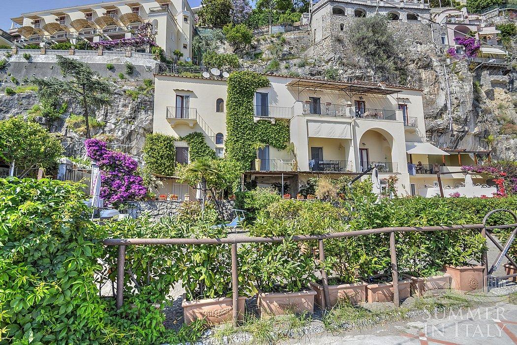 Casa capriccio house in positano amalfi coast italy for Casa positano