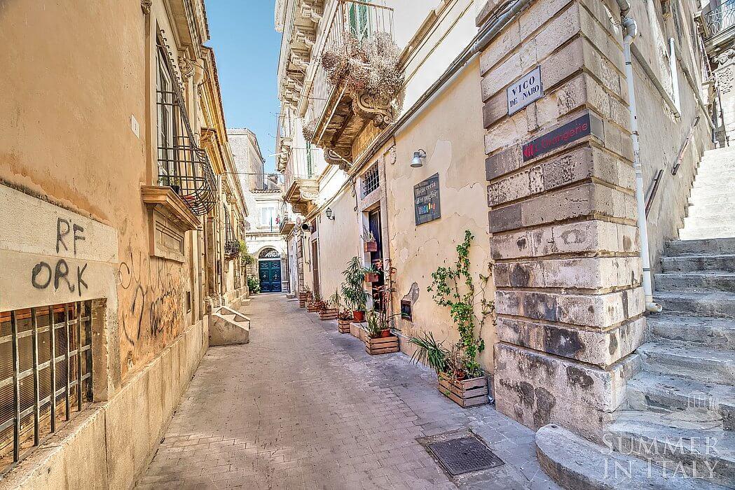 Casa Orangina House In Modica Sicily Italy