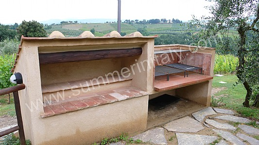 Casa immobiliare accessori angolo barbecue in muratura - Cucina esterna in muratura con barbecue ...