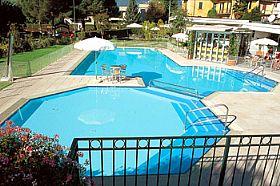 Bellagio Sporting Club Swimming Pool In Lake Como Italy