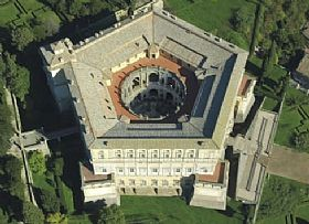 Palazzo Farnese Of Caprarola Tourist Attraction In Rome