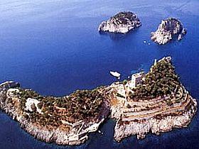 Li Galli Islands Tourist Attraction In Amalfi Coast Italy