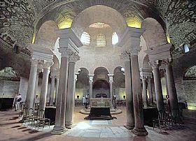Mausoleum Of St Costanza Church In Rome And Latium Italy