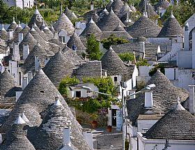 Selva Di Fasano Town In Puglia Italy