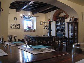 Trattoria la gargotta restaurant in tuscany italy - La gargotta bagno a ripoli ...