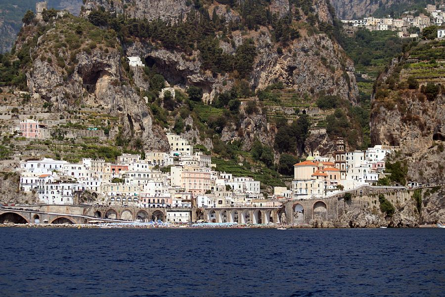Atrani, Town in Amalfi Coast, Italy