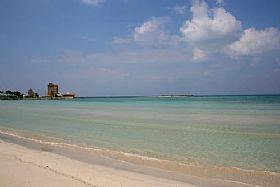 Torre Sant'Isidoro, Beach in Puglia, Italy