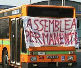 Transport strikes in Italy