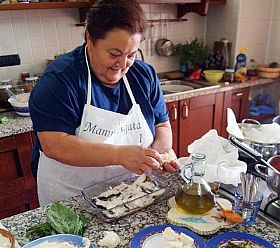 Mamma Agata's Italian cooking class on the Amalfi Coast