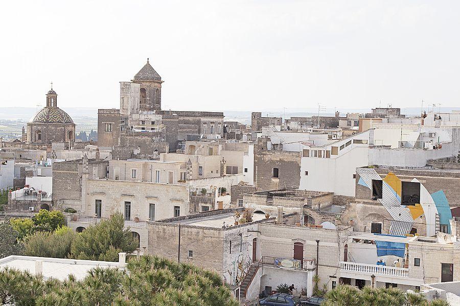 Grottaglie Town In Puglia Italy