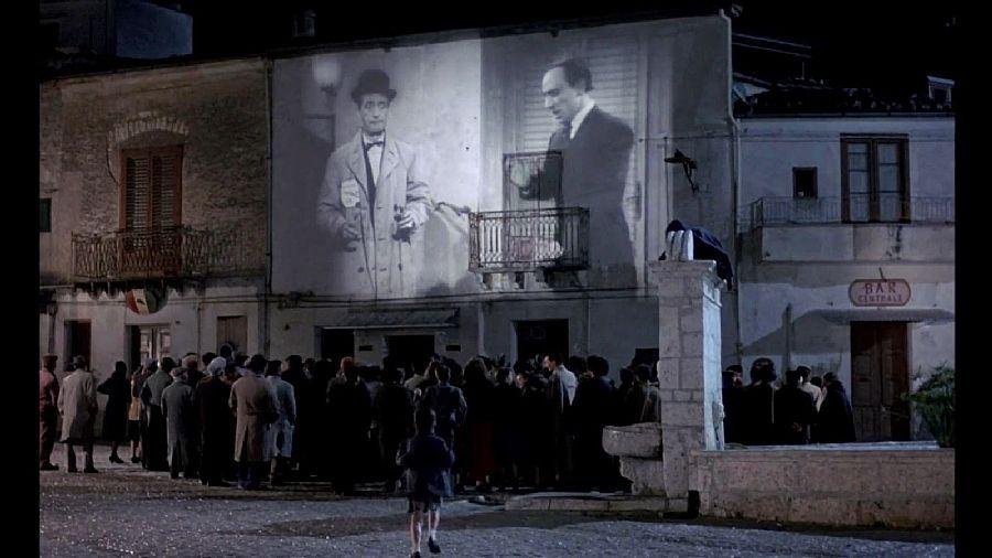 Scene from Cinema Paradiso