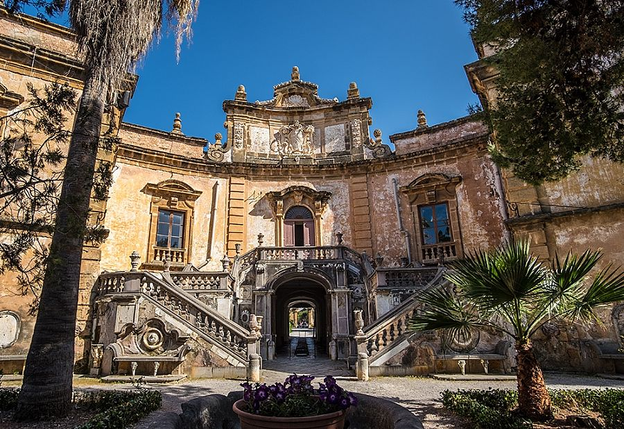 Villa Palagonia, Tourist Attraction in Sicily, Italy