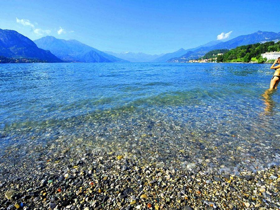 San Giovanni Bellagio Beach Lake Como