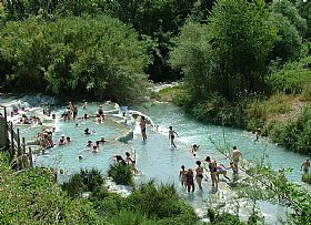 The Natural Hot Springs of Saturnia