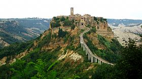 Civita di Bagnoregio, Town in Rome and Latium, Italy