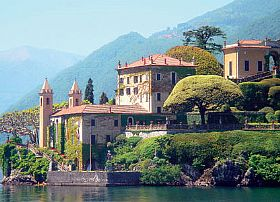 Villa Del Balbianello Tourist Attraction In Lake Como Italy